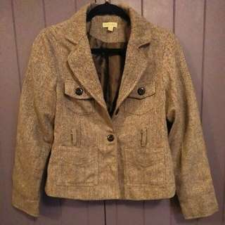 Tweed Style Jacket Au12