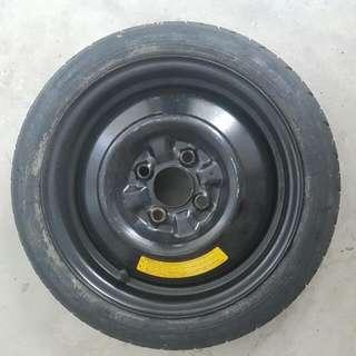 New Doughnut Tyre