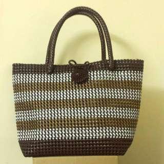 Handmade Plastic Gimp Bag