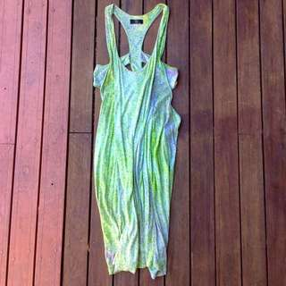 Cut Out Singlet Dress
