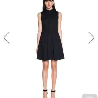 Cue Cotton High Neck Shift Dress