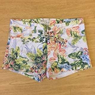 Floral Pattern Short