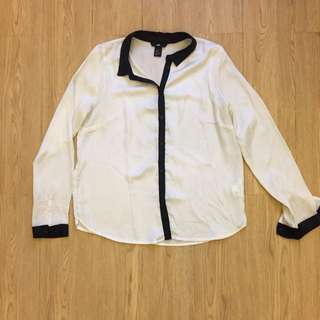 White Silk Shirt