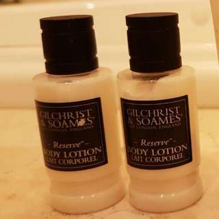 Gilchrist & Soames Body Lotion