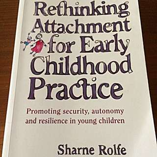 Early Childhood Attachment Textbook