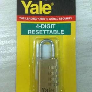 Yale V689.30四位自設密碼鎖(全新未開)