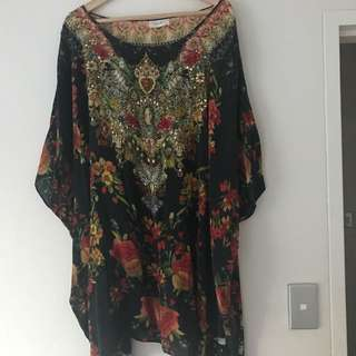 CAMILLA Short Kaftan Dress