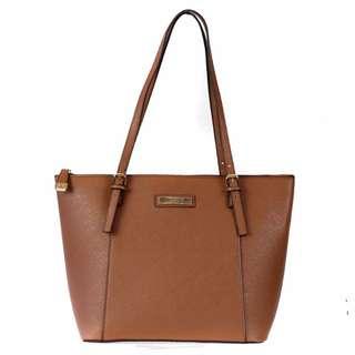 REDUCED! Kardashian Kollection Precious Metals Tote Bag - Tan