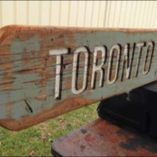 Toronto District Workers Club Sign