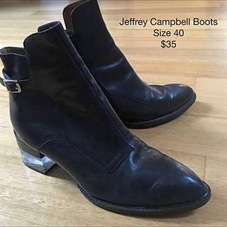 Jeffrey Campbell Boots (Also Selling At Fitzroy Market Tomorrow!)