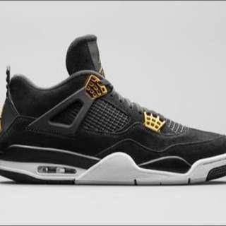 Nike Jordan 4 Royalty US10.5 and US11