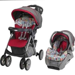 Gracco baby stroller (set)