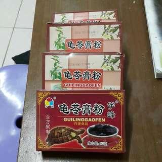 龜苓膏粉60元/盒