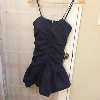 Navy Blue Dress (Italian Brand) SIZE S