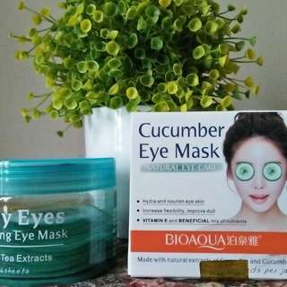 CUCUMBER EYE MASK