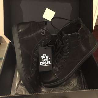 Rudsak Leather High Tops