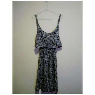 Black & White Beach Dress