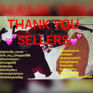 🍒Recommended Sellers🍉