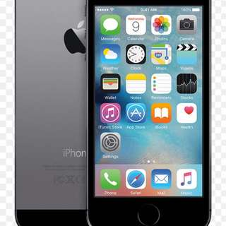 Iphone 5S (Black Silver)