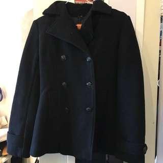 Joe Fresh XS Black Lapelled Coat