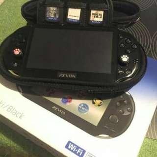 🚚 PSV PCH-2000型日版 3.60系統可玩破解遊戲