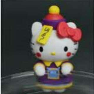 kitty 萬聖節 殭屍 杯緣子 盒玩