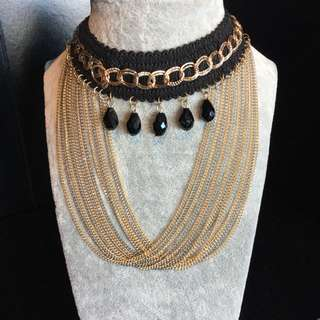 Brand New Scoop Chain Necklace