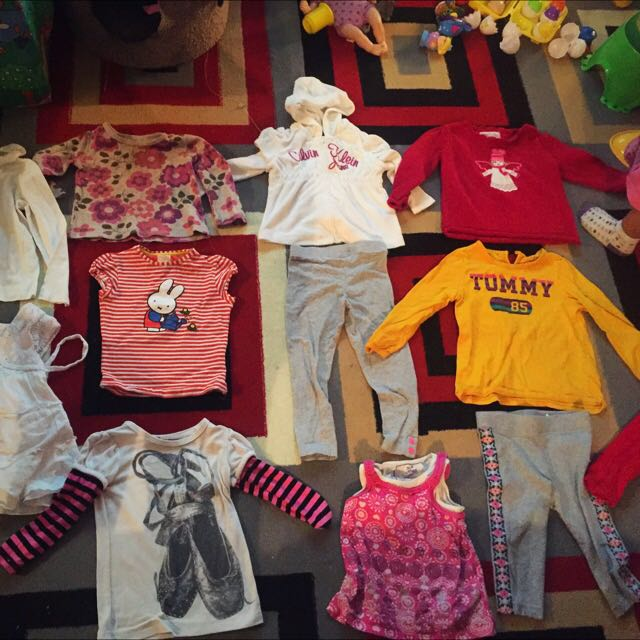 35 Pieces 2T Girls Lot $10