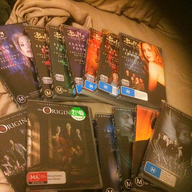 3 Complete Series Perfect Condition