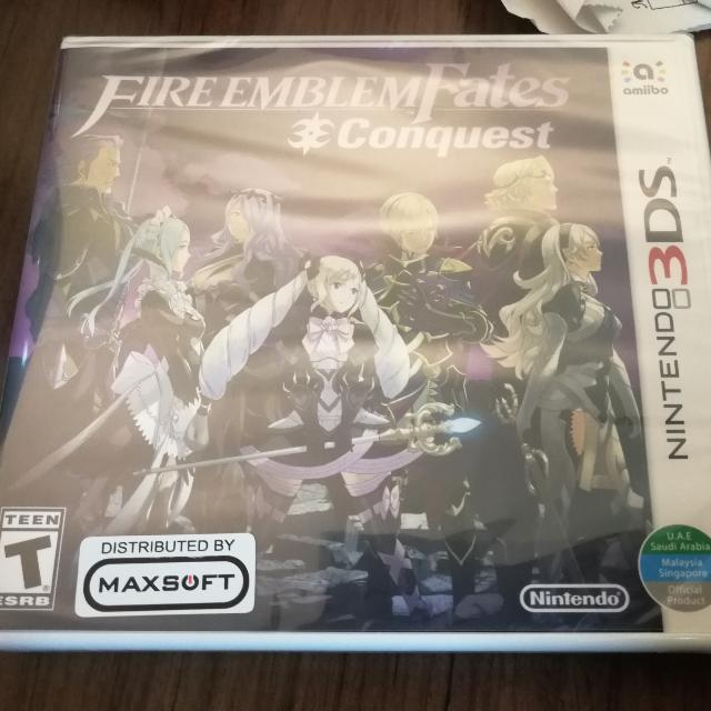 3DS Fire Emblem Fates Conquest
