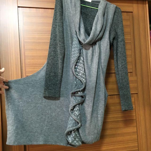 兩件式造型上衣(洋裝)