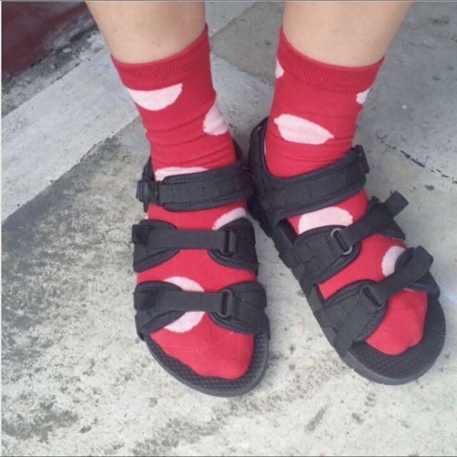 韓版百搭三條涼鞋