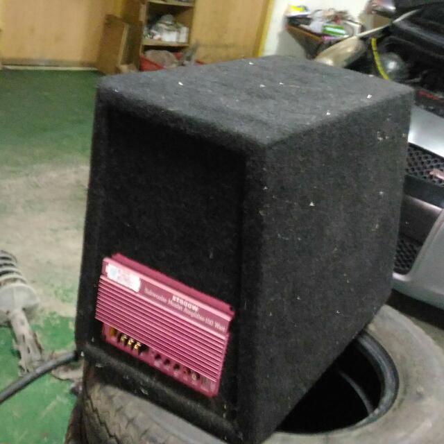 中型 重低音 音箱喇叭