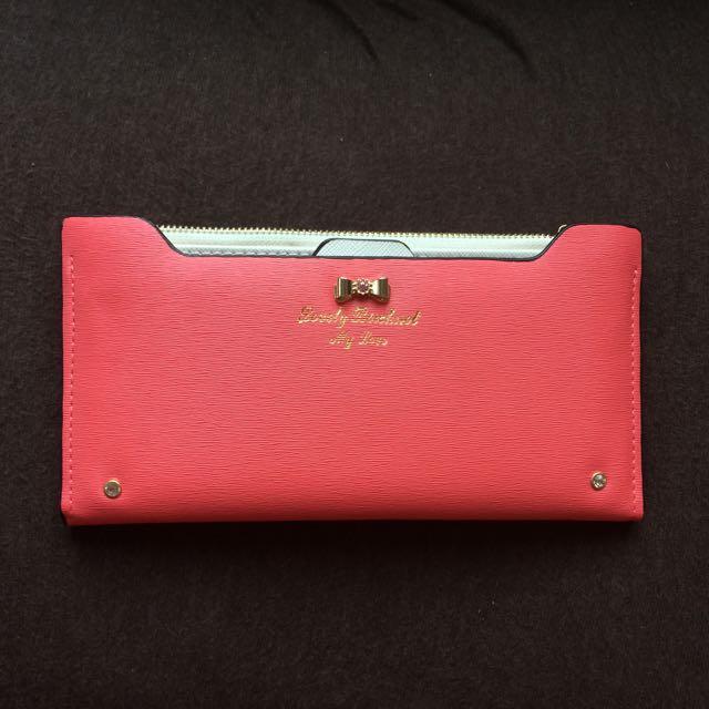近全新 女用皮夾 錢包 錢袋 卡夾 韓版包