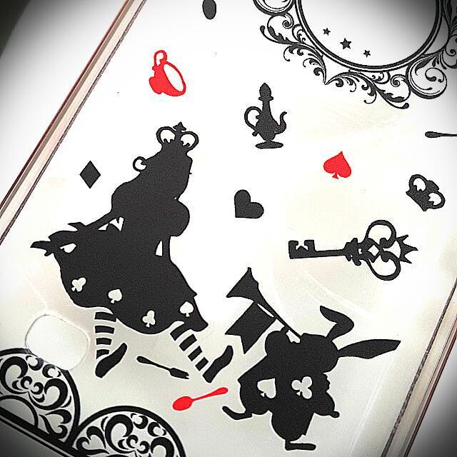 愛麗絲夢遊仙境手機殼 Alice手機套 三星SAMSUNG Glaxy  Note4 艾麗絲與兔子 下午茶餐會 甜點派對 透明圖案