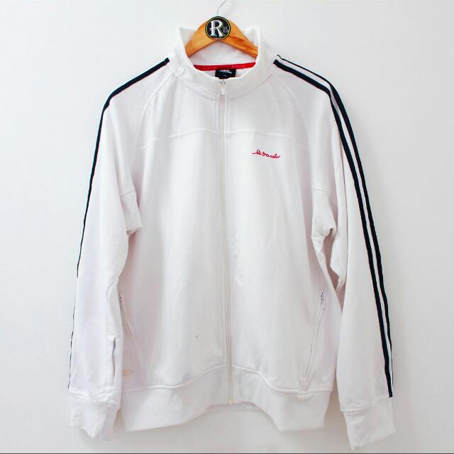 Adidas Tracktop White