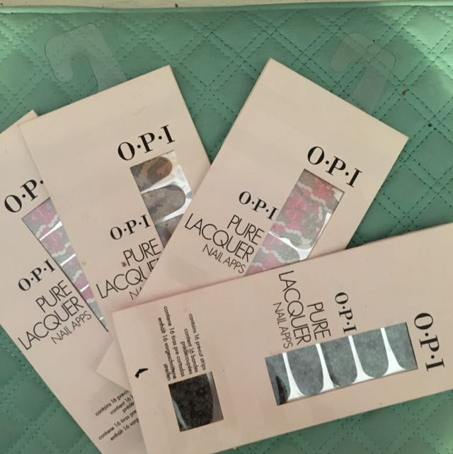Assorted OPI Nail Apps