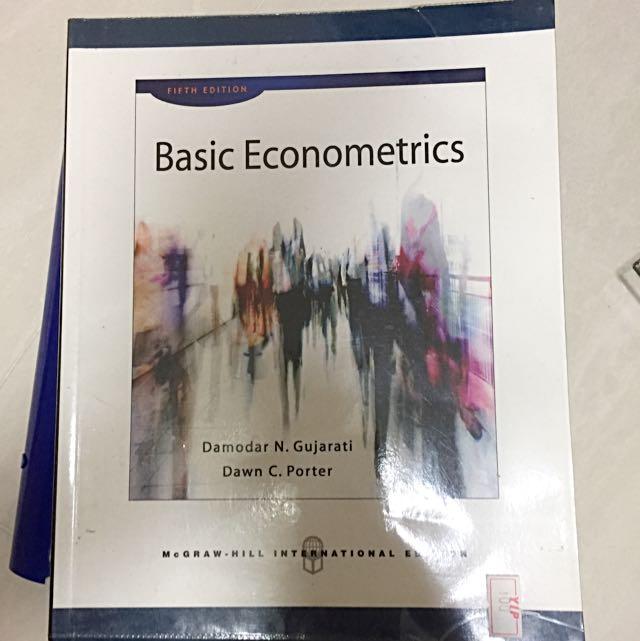 Basic econometrics books stationery textbooks on carousell photo photo photo photo photo fandeluxe Gallery