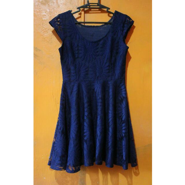 Blue Girly Dress