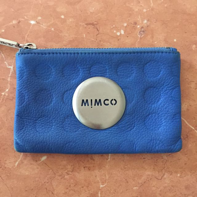 Blue Mimco Coin Purse