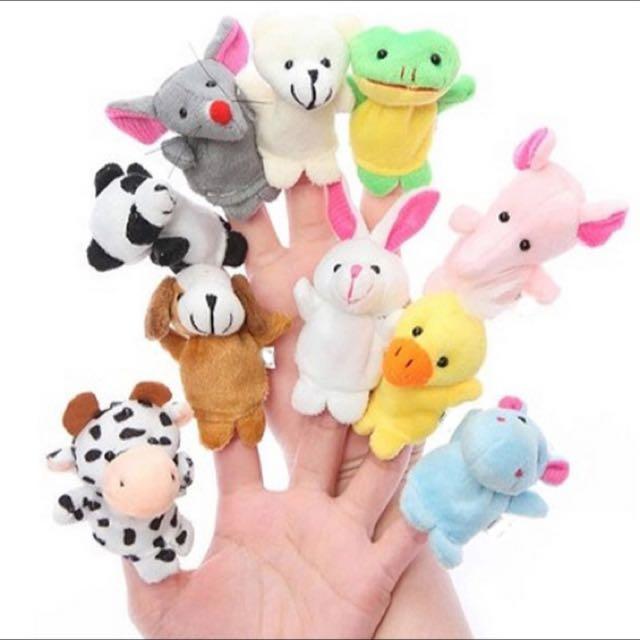 Boneka 10 jari Macam-macam Binatang