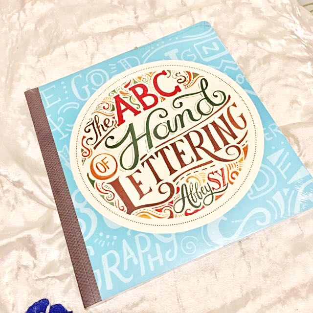 Brand New THE ABC OF HAND LETTERING BY ABBEY SY