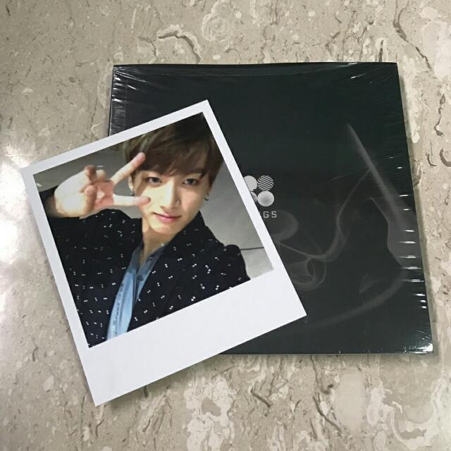 BTS Wings N ver. and JK Polaroid