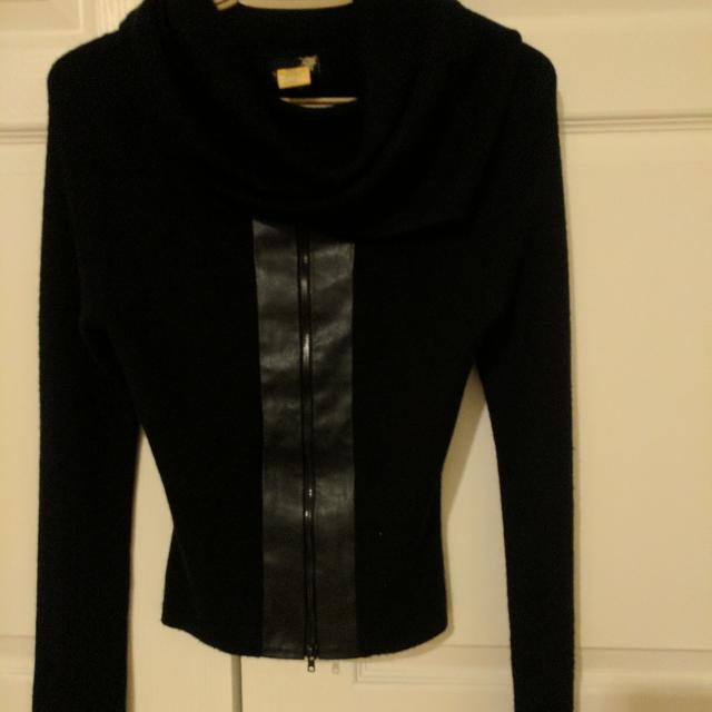 Buffalo By David Button Cowl Neck Sweater