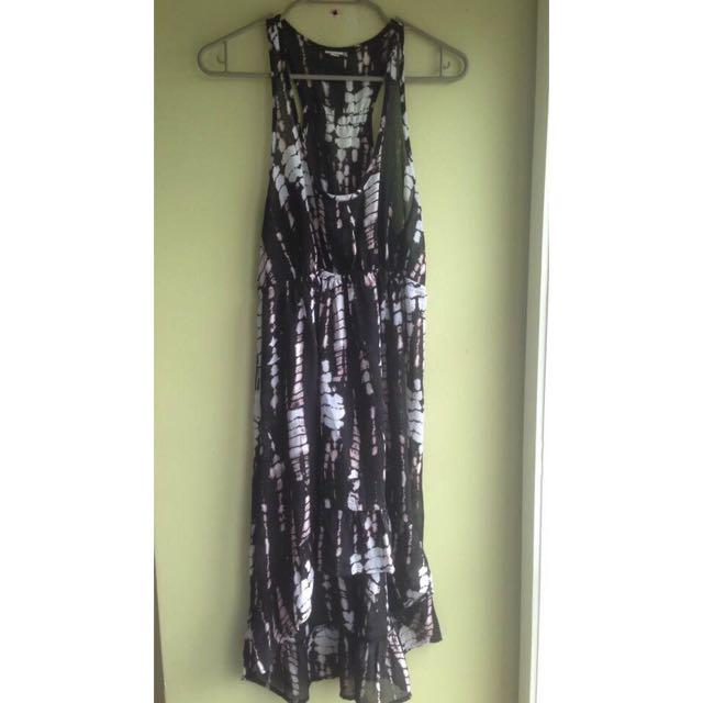 Chiffon Hi low Dress