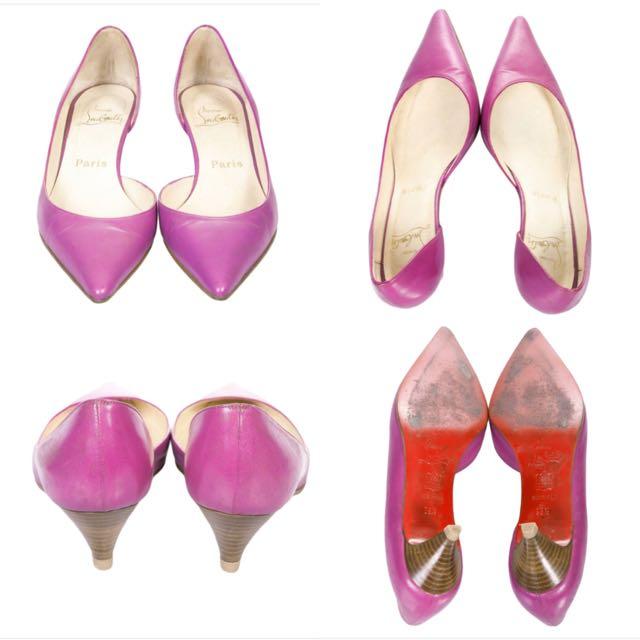 CHRISTIAN LOUBOUTIN Purple Heels