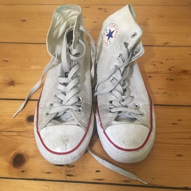 Chuck Taylor White High Tops