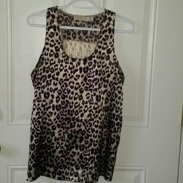 Costa Blanca Leopard Tank
