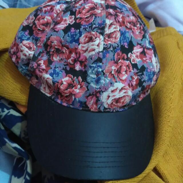Cotton On Flowery Cap