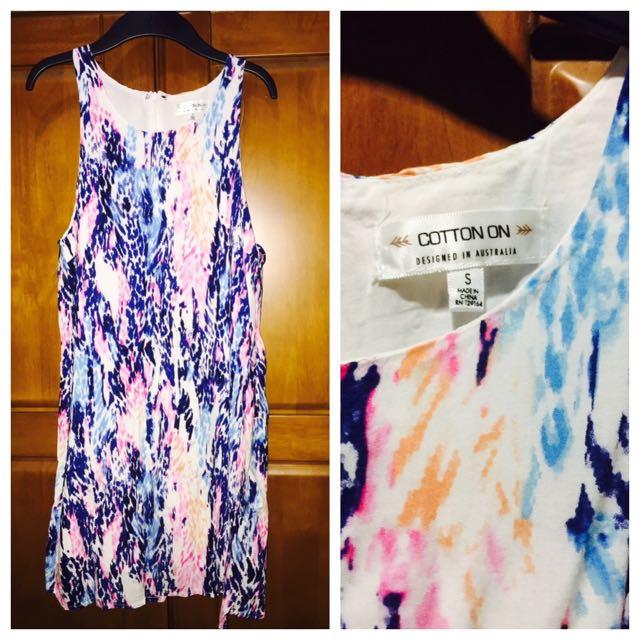 Cotton On Printed Dress